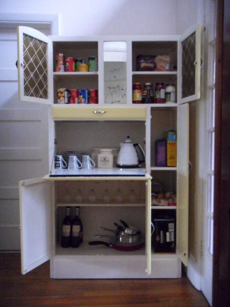 Retro 195039s Kitchenette Kitchen Cabinet Larder Pantry