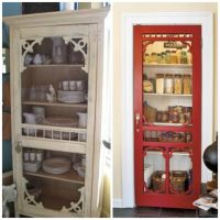 Turn Old Screen Doors into Pantry Doors...these are ...