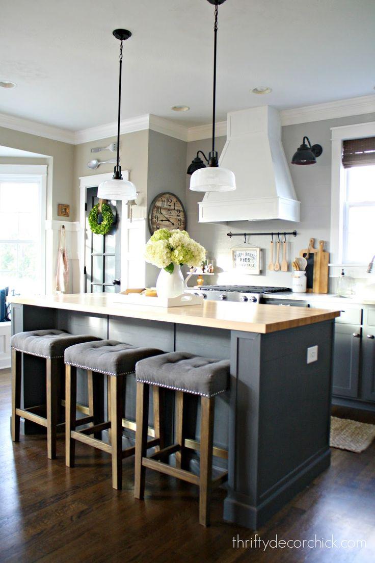 kitchen island decor