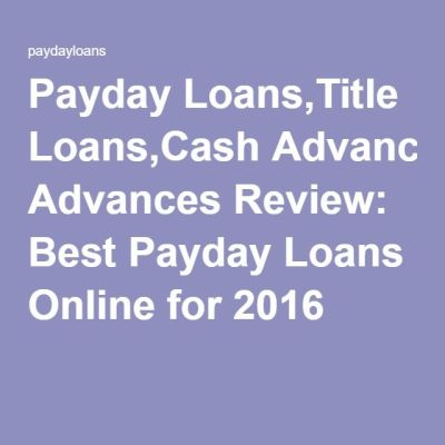 1000+ ideas about Best Online Payday Loans on Pinterest | Online Payday Loan Lenders, Loan ...