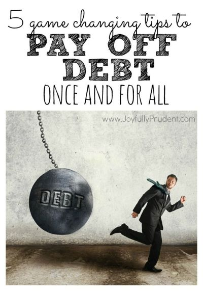 5 Crucial Tips When Paying Off Debt | Budget, Tips and Pay off debt