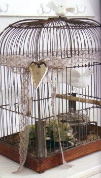 1000+ ideas about Bird Cages Decorated on Pinterest ...