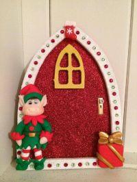 Christmas elf door for elf on the shelf | Elf on the Shelf ...