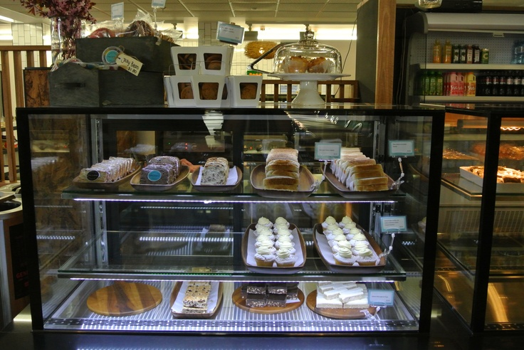 Cafe Counter Cold Cabinet Display Food For The Soul