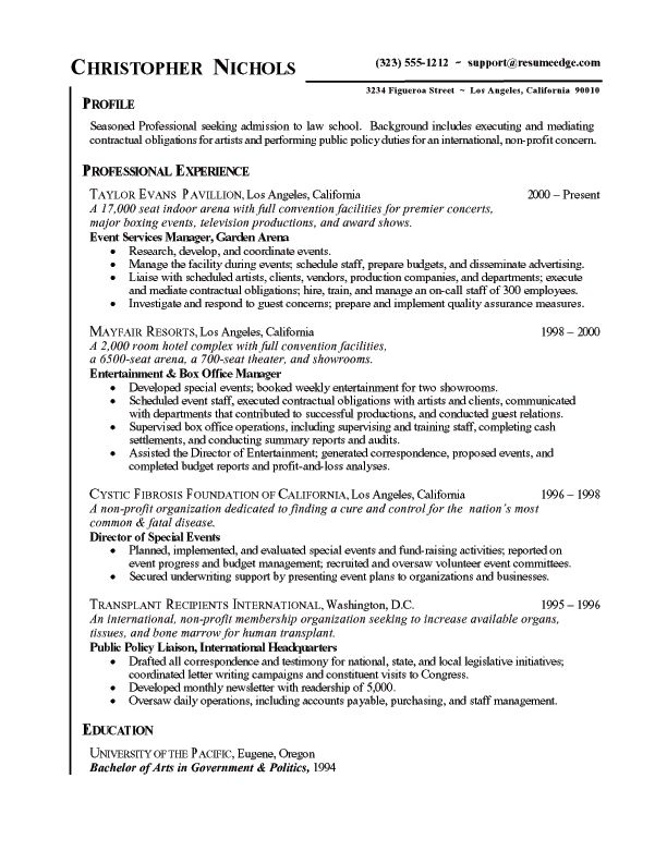 free chronological resume template 80 Free chronological resume - reverse chronological resume template
