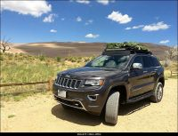 201x Jeep Grand Cherokee with Gobi Roof Rack and Light Bar ...