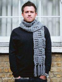 25+ best ideas about Crochet mens scarf on Pinterest   Men ...
