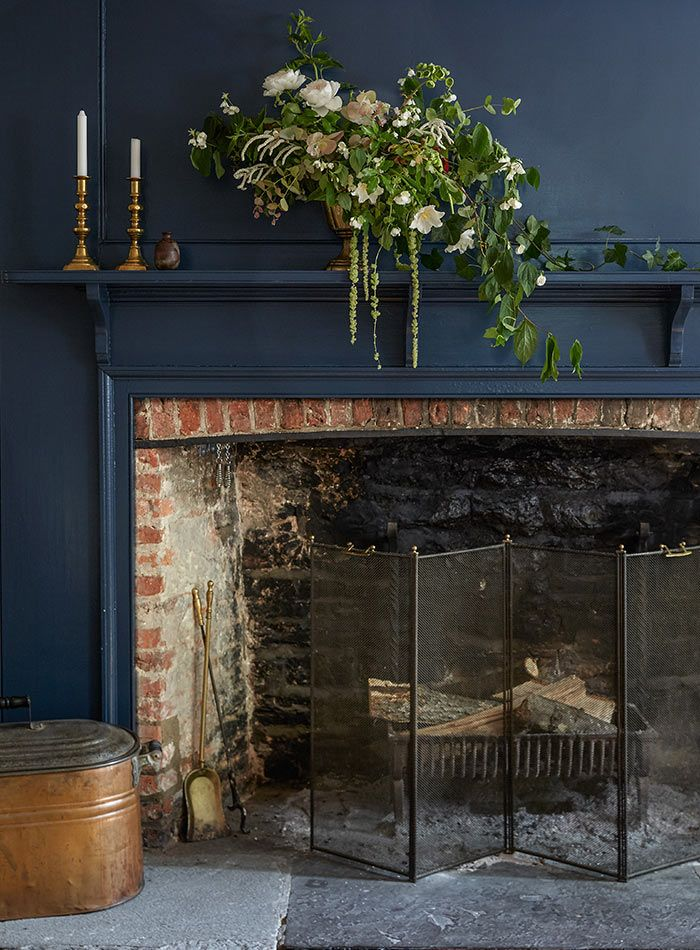 Blue Fireplace 1000+ Images About Country Blue On Pinterest | House Of