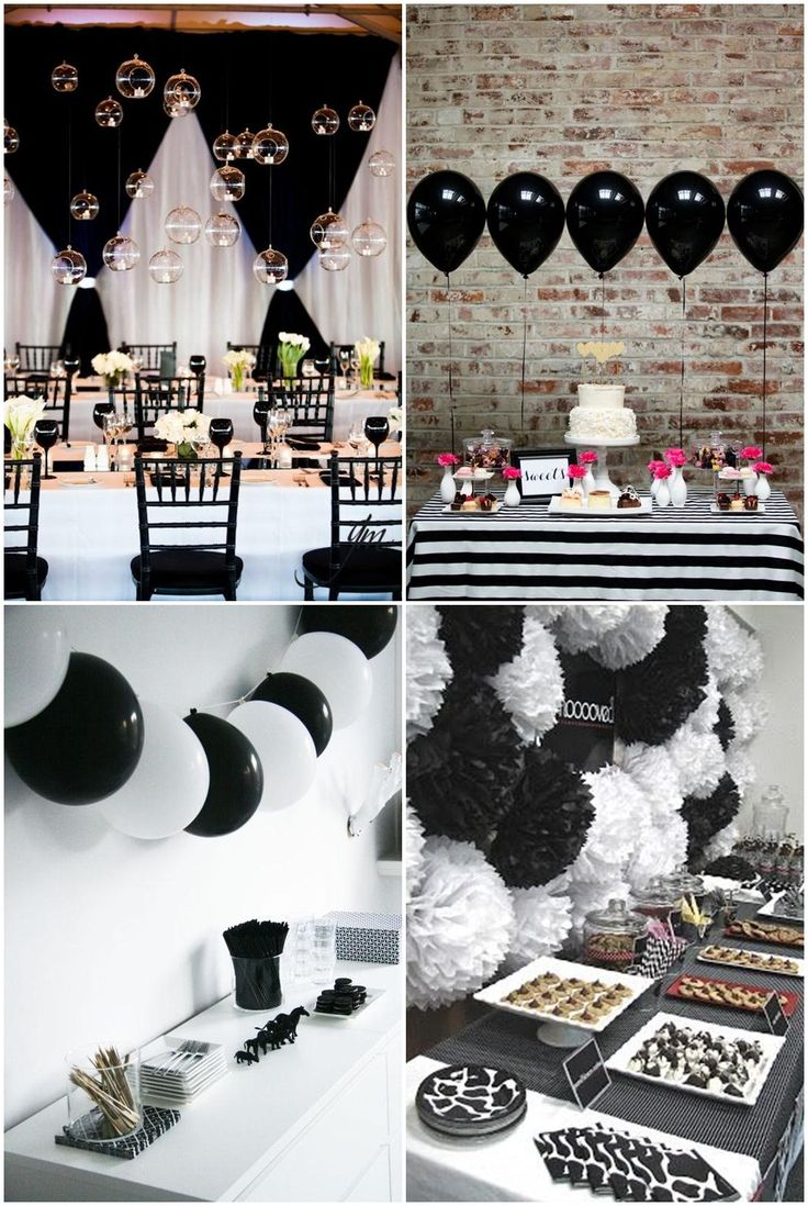 25+ best ideas about Black White Parties on Pinterest