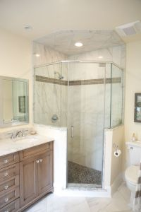 Neo-angle shower | Lagenwalter Master Bath | Pinterest ...