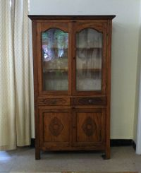 PENDING Late 1800's Antique Oak Pie Safe Cabinet Cupboard ...