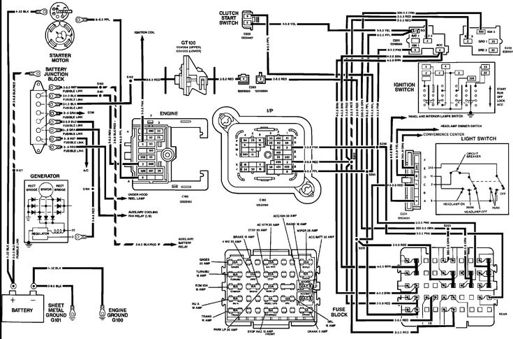vehicle wiring diagram 17 gmc sierra