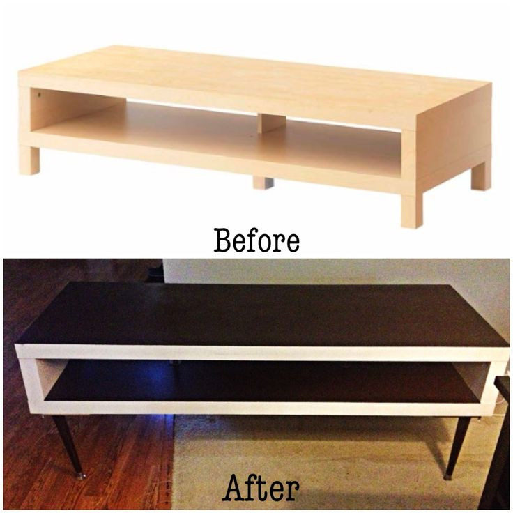 Ikea Lack Kast Diy Ikea Hack! Lack Tv Stand To Mid Century Inspired