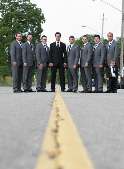 25+ best ideas about Groomsmen Grey Suits on Pinterest