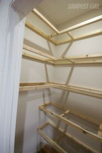 How To Build Wood Closet Shelves - WoodWorking Projects ...