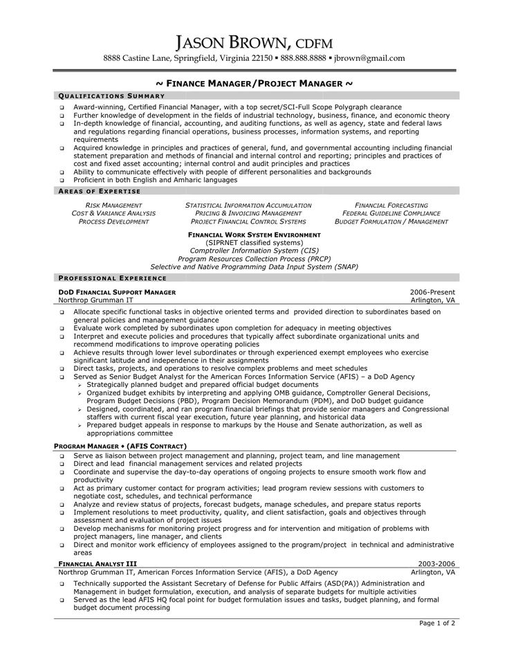 top 8 information system manager resume samples in this file you - project management resume examples
