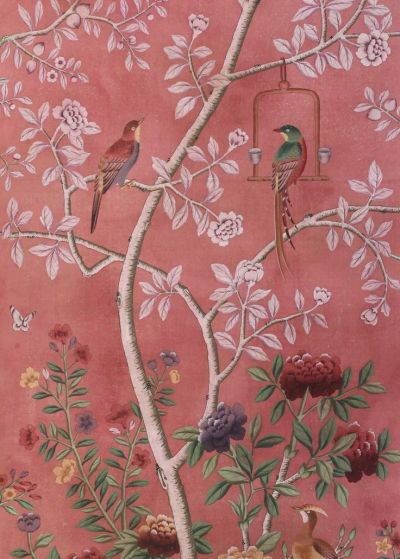 25+ best ideas about Chinoiserie wallpaper on Pinterest   Powder rooms with chinoiserie inspired ...