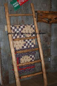 1000+ ideas about Quilt Ladder on Pinterest   Quilt Racks ...