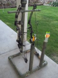 Diy pvc bow stand plans
