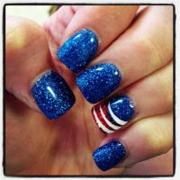 18 Fourth of July Nail Art Designs for Teens | Design, 18 ...