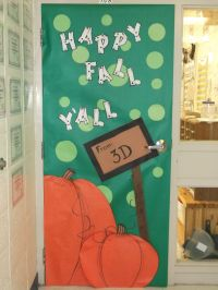 Fall School Door Decorating Ideas - Elitflat