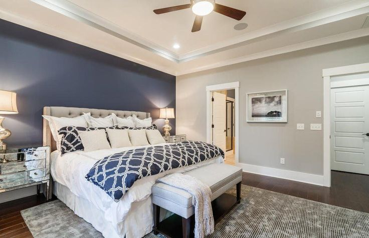 1000+ ideas about Blue Accent Walls on Pinterest