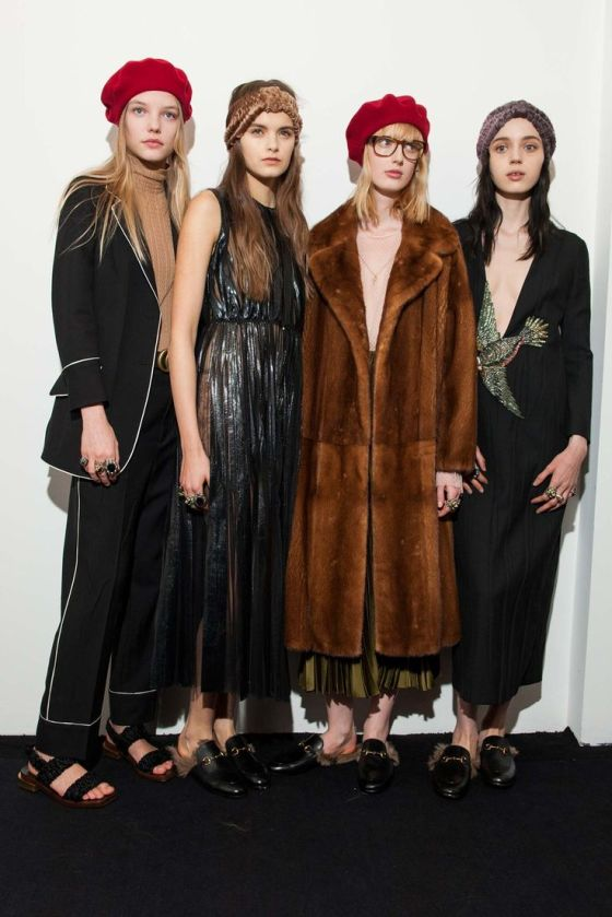 #Backstage at Gucci RTW Fall 2015 #MFW: #Backstage at Gucci RTW Fall 2015 #MFW