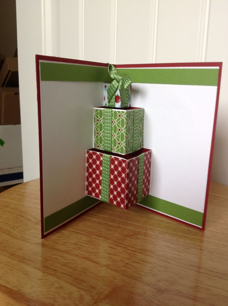 christmas present card template