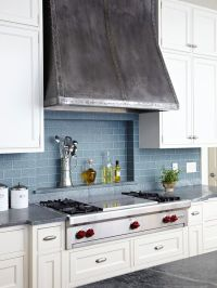 Colorful Kitchen Backsplash Ideas | Stove, Industrial and ...