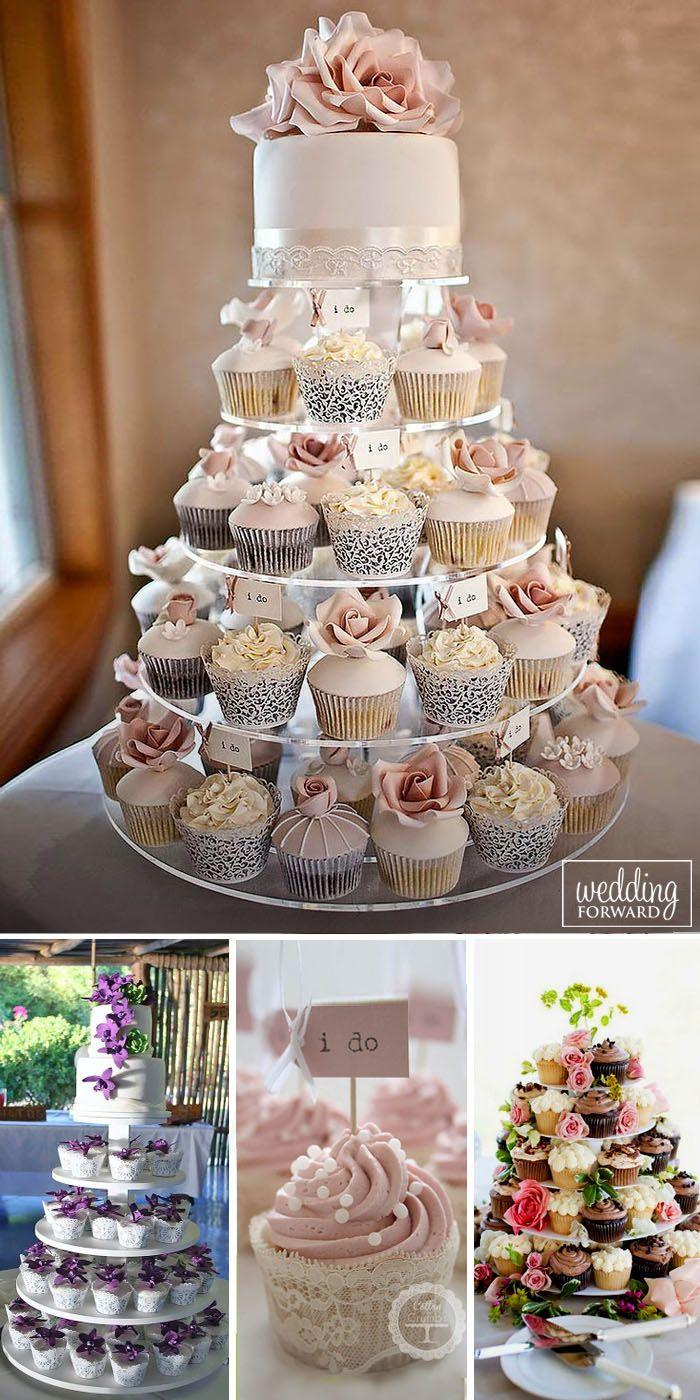 wedding cakes wedding cupcake ideas 36 Totally Unique Wedding Cupcake Ideas