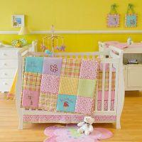 Sumersault rare ALOHA Beach Baby Girls Crib Bedding Set 10