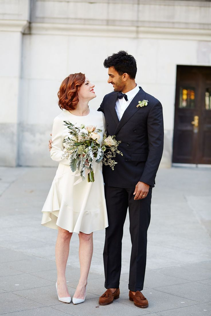 wedding dress alternative courthouse wedding dresses City hall wedding dress inspiration for unique brides