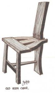 Old irish chair-Tuam chair | medieval studies/wood stuff ...