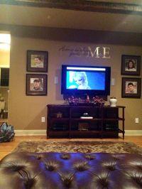 25+ best ideas about Tv Wall Decor on Pinterest | Diy ...