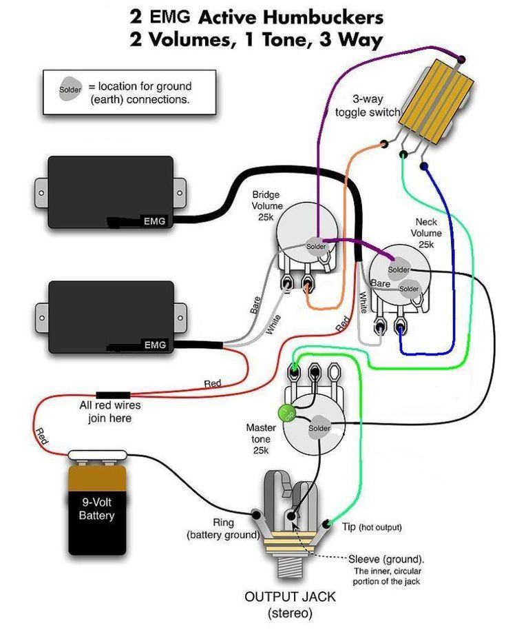 old emg wiring diagrams