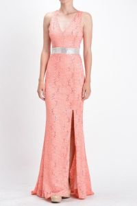 1000+ ideas about Long Coral Bridesmaid Dresses on ...