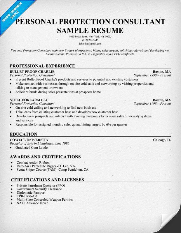 Wine Consultant Sample Resume madebyrichard