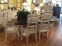 chalk painted dinning sets | Stunning French Country ...