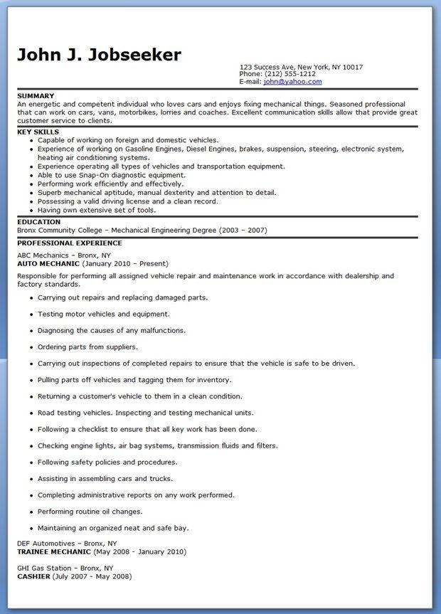 airframe mechanic sample resume node2001-cvresumepaasprovider