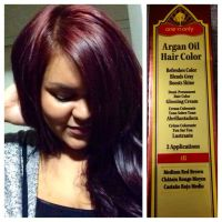 Yay for fall hair color! :) One 'n only Argan oil hair ...