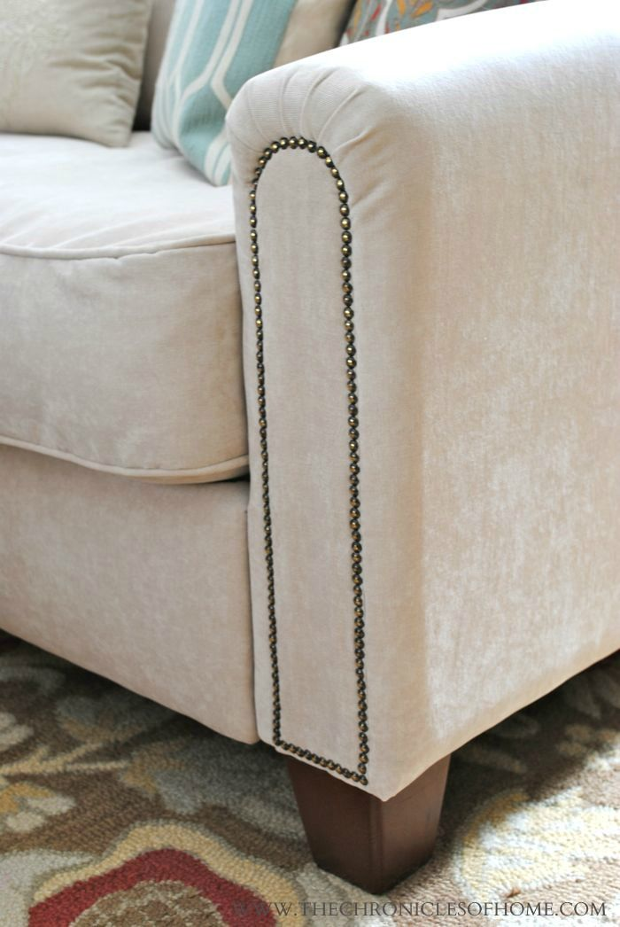 Upholstered Chairs With Nailheads 177 Best Images About Diy Reupholster Furniture On