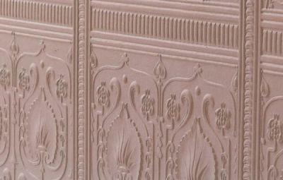 Dado Paneling Edwardian paintable Lincrusta wallpaper: RDD1964 | Embossed Lincrusta Paintable ...