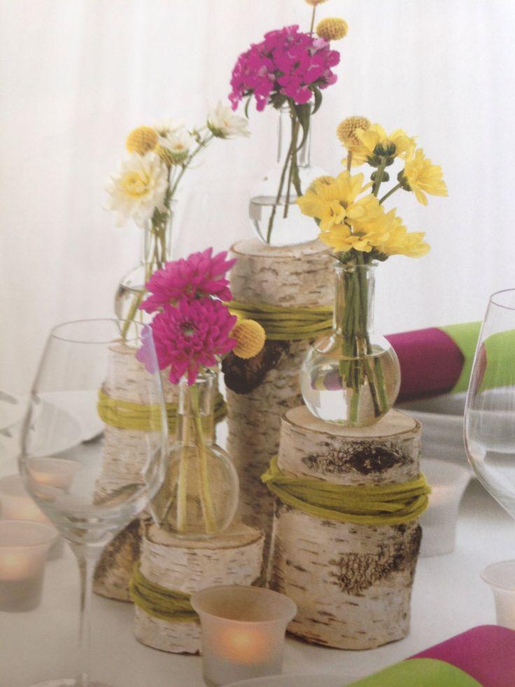 Vintage Tischdeko Holz Hochzeit Pinterest Vintage