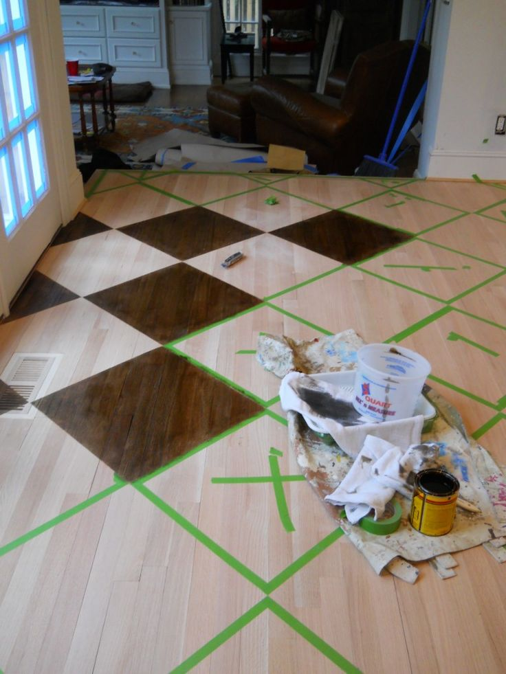 1000+ Images About Painted Floors On Pinterest   The Floor