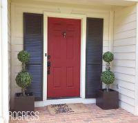 17 Best ideas about Red Garage Door on Pinterest | Front ...