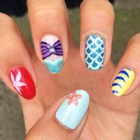 Best 25+ Mermaid Nail Art ideas on Pinterest | Beach nail ...