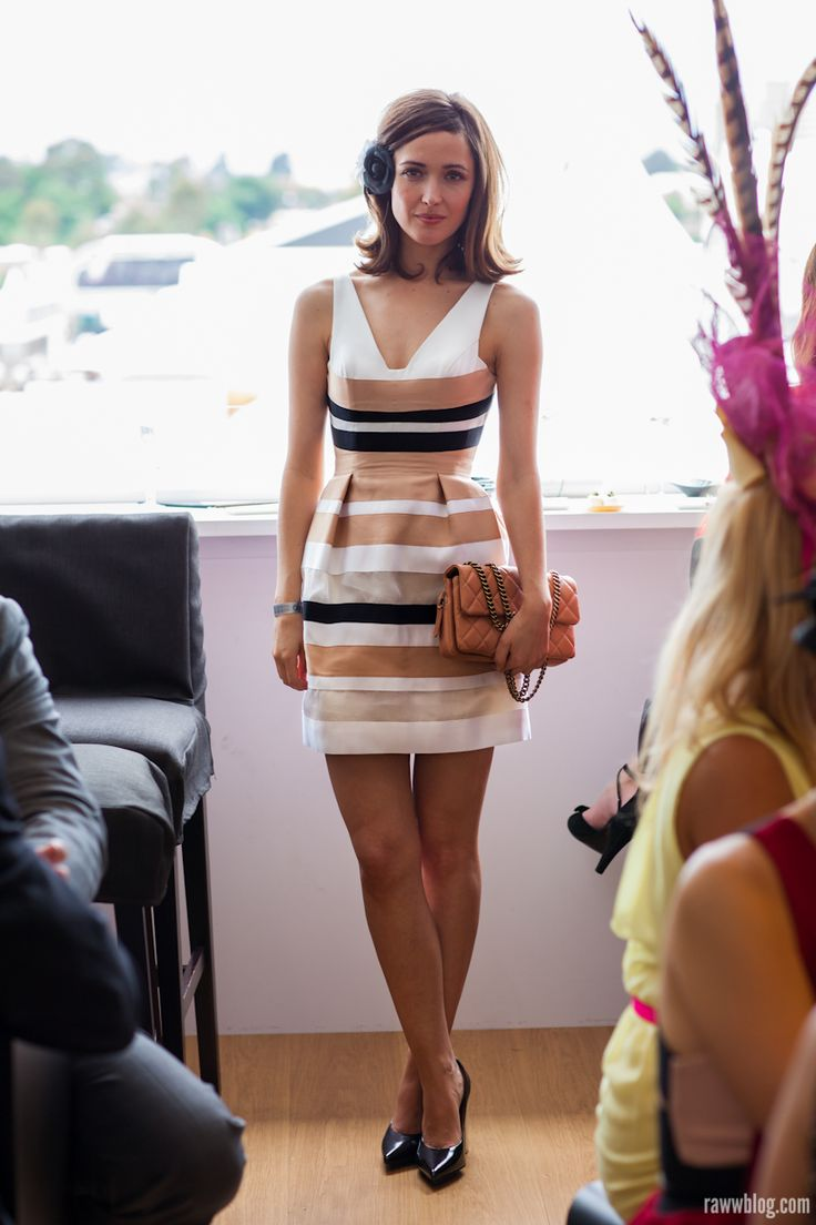 Bridal Girl Wallpaper Melbourne Cup 2012 Street Style Rose Byrne In The Lexus