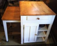 pull out table kitchen island