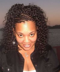pinterest african braided hairstyles   Extension Cornrow ...