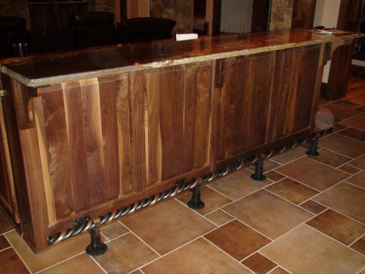 Bar Foot Rail 17 Best Images About Bbq Islands On Pinterest | Industrial